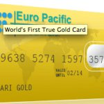 Credit Card backed by gold
