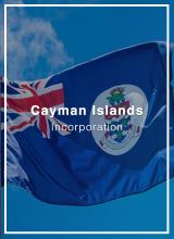 incorporate in cayman islands