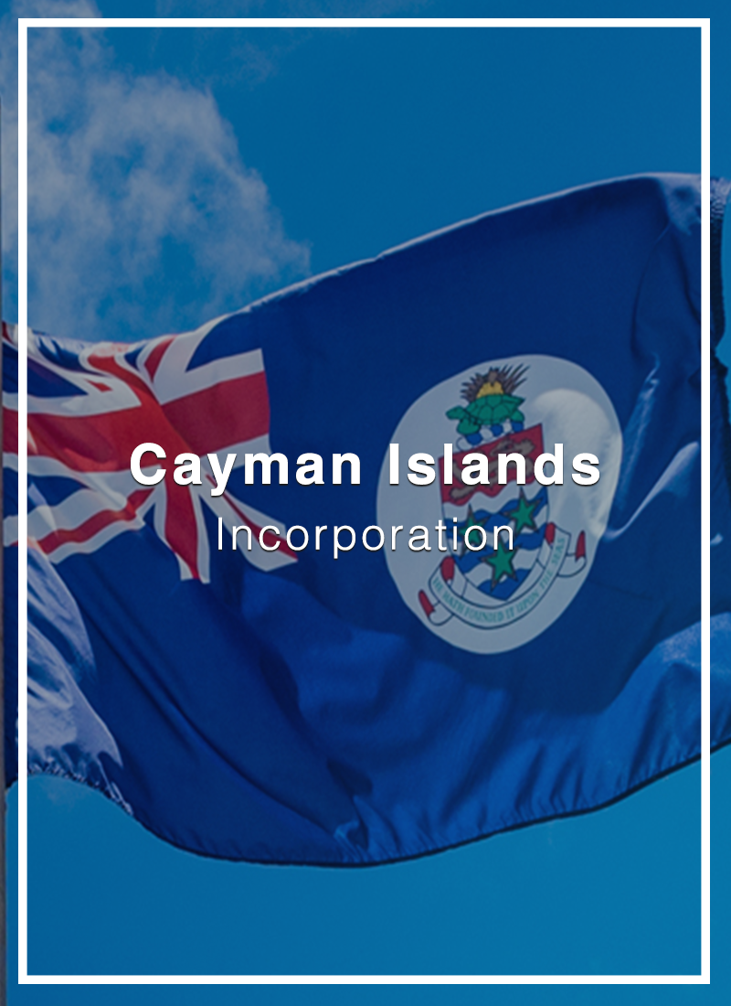 incorporate in cayman islands