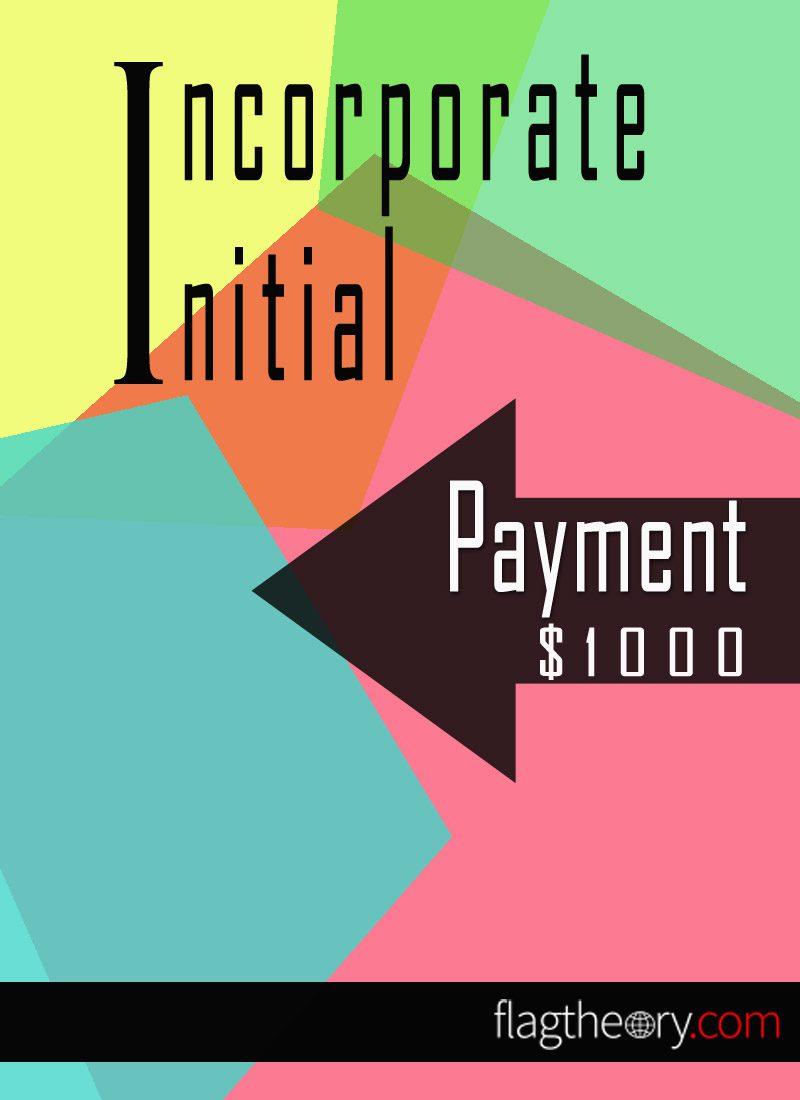 Incorporation Initial Deposit