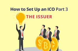 how to set up an ico token issuer