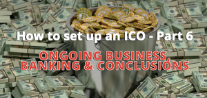 set up ico banking ongoing business