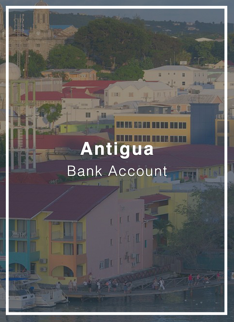 open a bank account in antigua