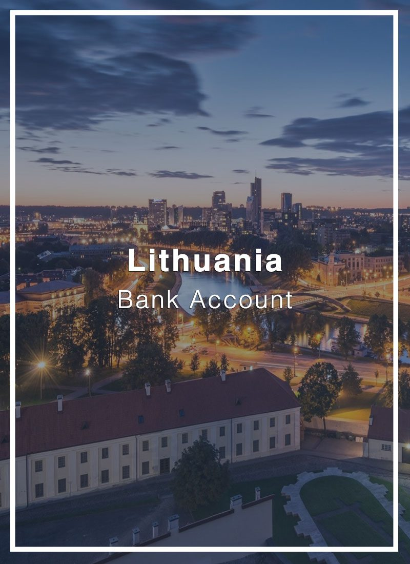 open a bank account in lithuania