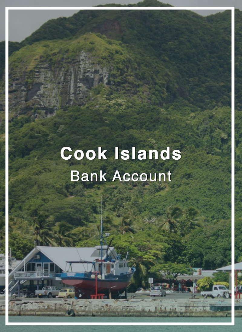 cook islands bank account