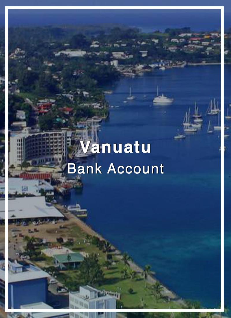 open bank account in vanuatu