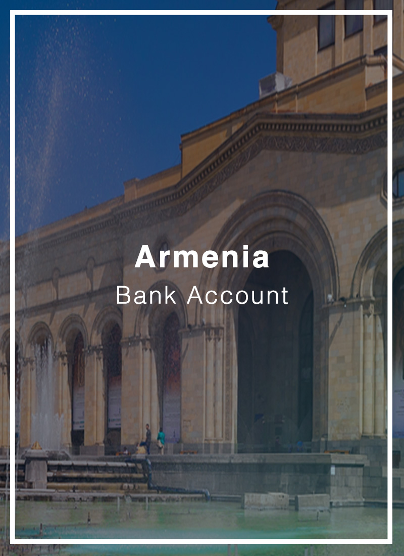 open a bank account in armenia