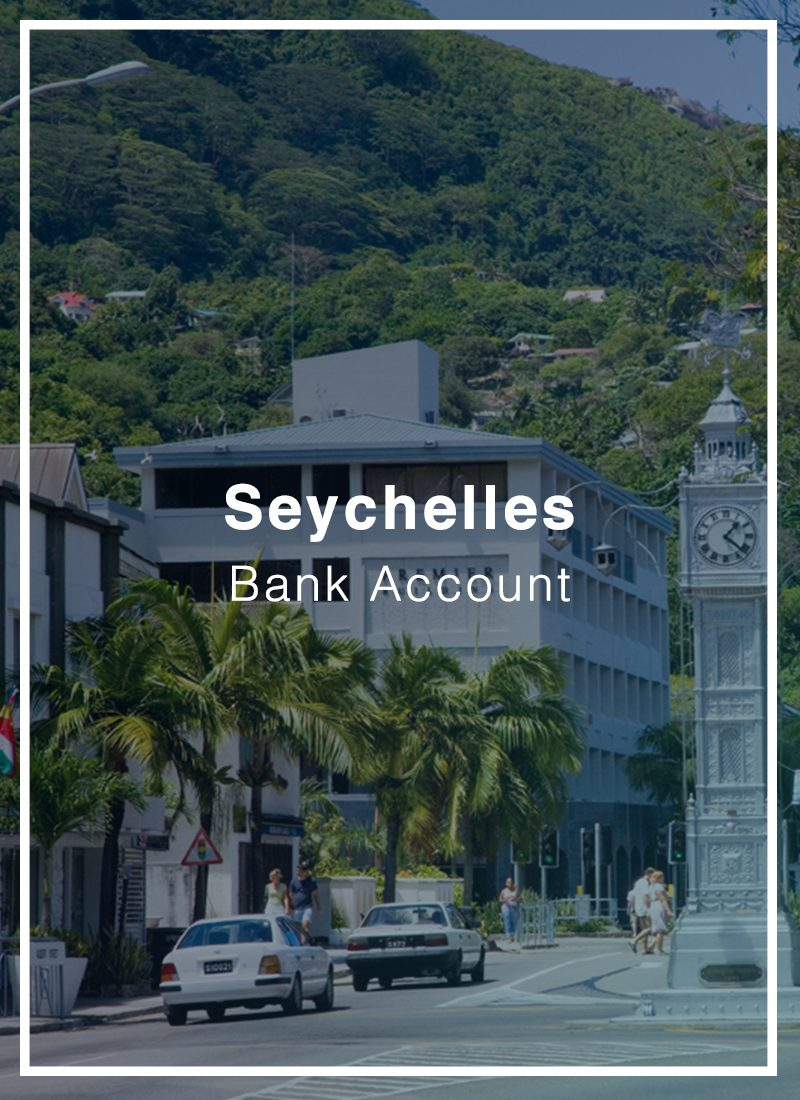 open bank account in Seychelles
