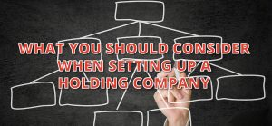 set up a holding company corporate structuring